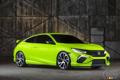 2015 New York Auto Show: Surprise! 10th-Generation Honda Civic Concept