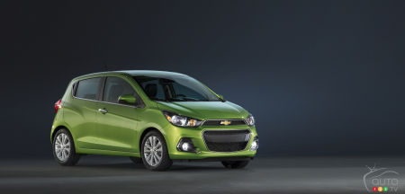 2015 New York Auto Show: Chevrolet launches 2016 Spark