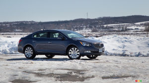 2015 Buick LaCrosse AWD Review
