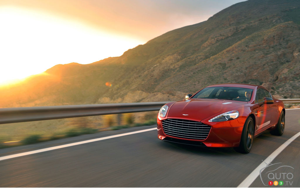 Report: Aston Martin working on 1,000hp electric Rapide
