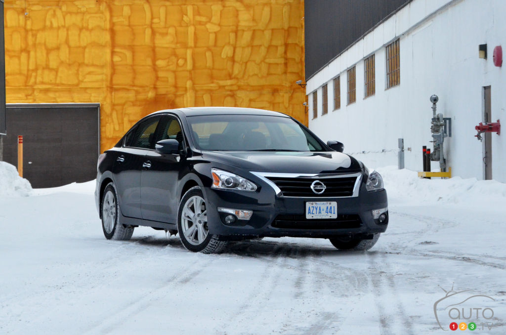 2015 Nissan Altima 2.5 SL Review