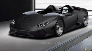 Behold Star Wars-themed Lamborghini Huracan!