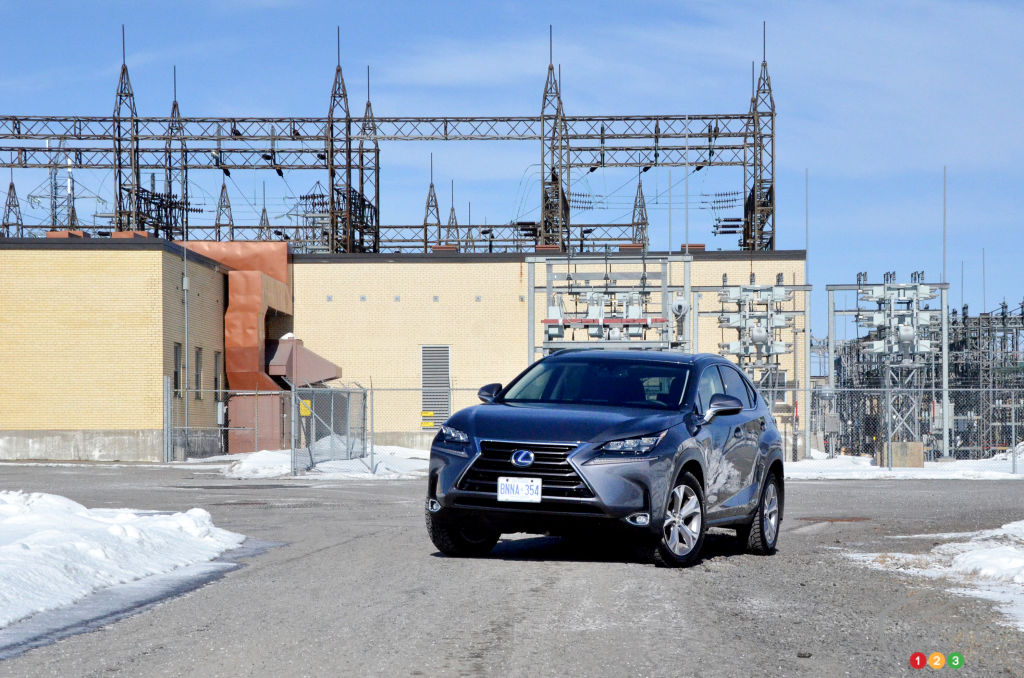 2015 Lexus NX 300h Review