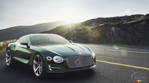 Bentley a dévoilé son concept EXP 10 Speed 6 à Shanghai