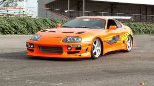 Up for bid: Toyota Supra from The Fast and the Furious