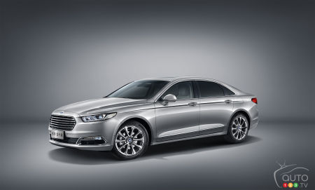 2015 Auto Shanghai: New Ford Taurus makes global debut