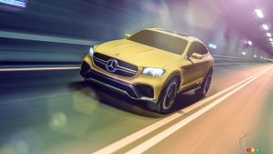 2015 Auto Shanghai: Mercedes-Benz presents Concept GLC Coupe
