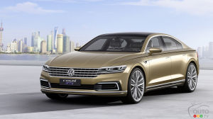 2015 Auto Shanghai: C Coupe GTE is Volkswagen's latest concept