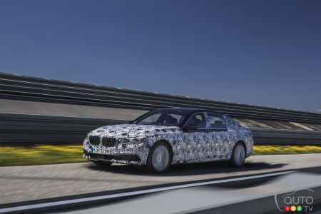 New BMW 7 Series to offer remote control parking