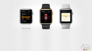 Des applications Porsche et BMW pour la montre Apple