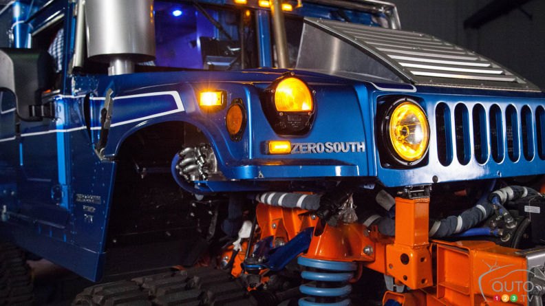 Plug-in Hybrid Hummers to tackle Antarctica