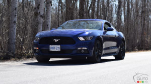 Ford Mustang EcoBoost 2015 : essai routier