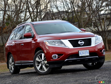 2015 Nissan Pathfinder Platinum V6 Review