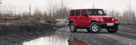 De 0 à 100 en 5 points ou moins : Jeep Wrangler Unlimited Sahara 2015