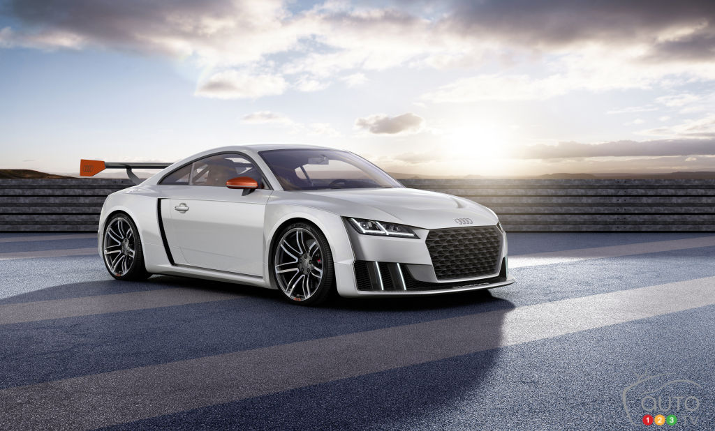 Behold 600-hp Audi TT clubsport turbo concept