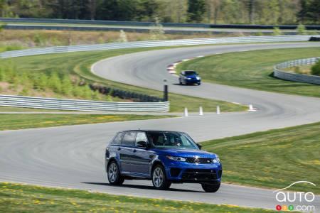 range rover sport svr 2015 premi res impressions essai routier essais routiers auto123. Black Bedroom Furniture Sets. Home Design Ideas