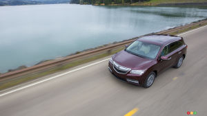 2016 Acura MDX Preview