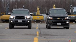 2015 Chevrolet Colorado vs. 2015 Toyota Tacoma