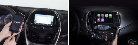 Android Auto et Apple CarPlay arrivent chez GM
