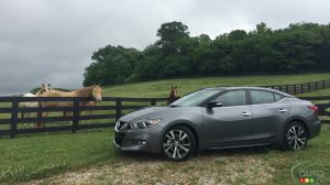 2016 Nissan Maxima First Impression