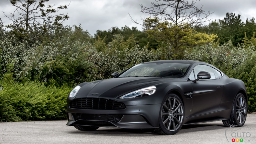 "Q by Aston Martin develops ""One of Seven"" Vanquish"