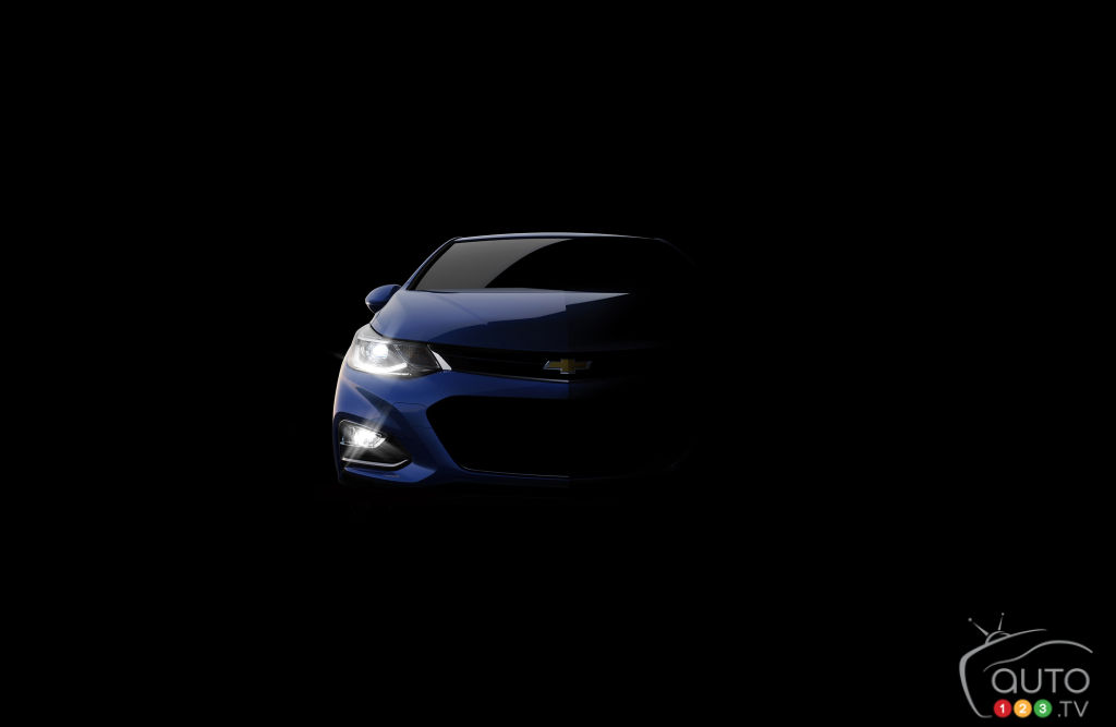 First official pic of 2016 Chevrolet Cruze