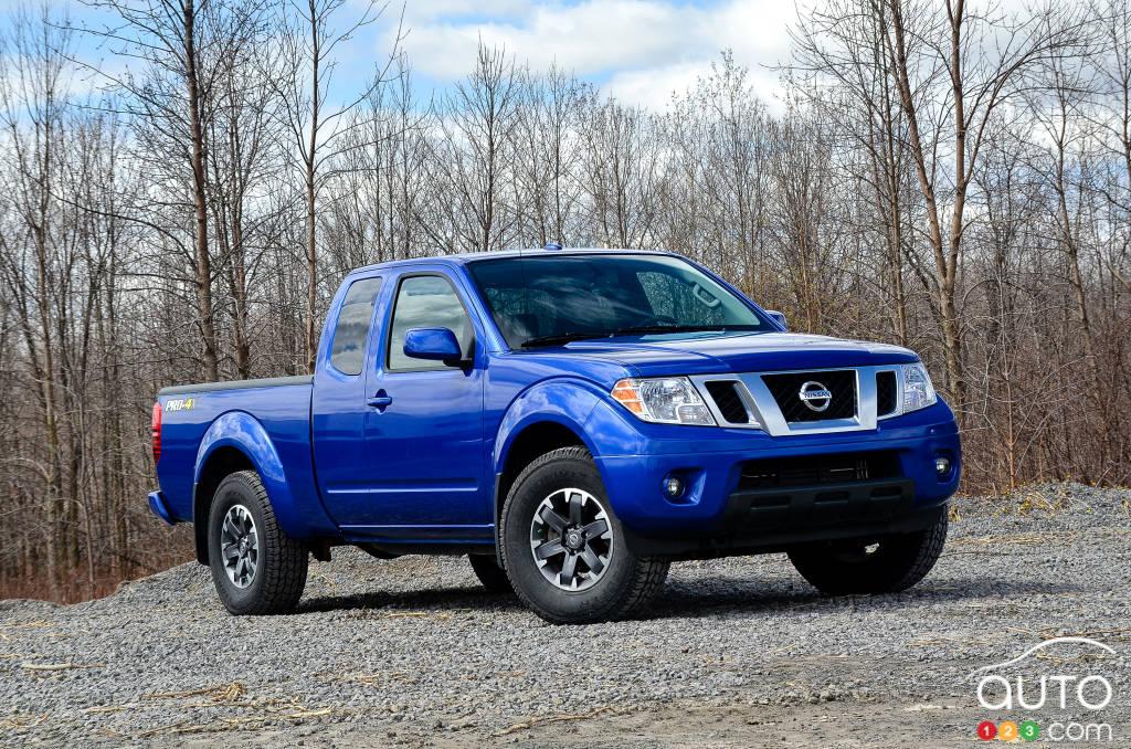 2015 Nissan Frontier PRO-4X | Car Reviews | Auto123