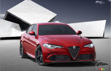 Alfa Romeo Giulia makes world debut