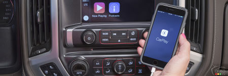 Les GMC Canyon, Sierra et Yukon reçoivent CarPlay d'Apple