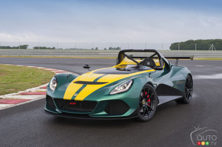 Lotus unveils all-new 3-Eleven at Goodwood