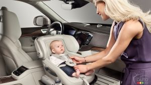 Volvo presents Excellence Child Seat Concept
