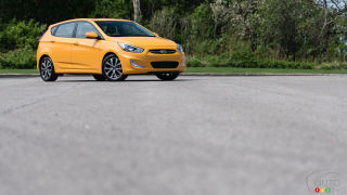 0-100 in 5 Points or Less: 2015 Hyundai Accent SE automatic
