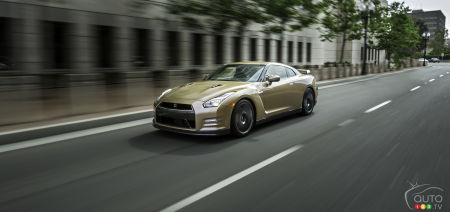 2016 Nissan GT-R Preview