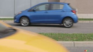 2015 Hyundai Accent SE vs. 2015 Toyota Yaris hatchback SE comparison test