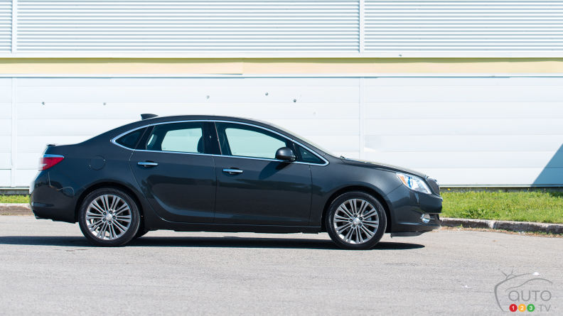 2015 Buick Verano: 0-100 in 5 Points or Less