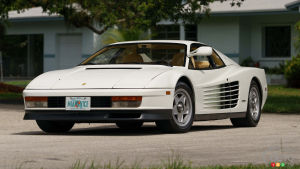 "Ferrari Testarossa from ""Miami Vice"" to be auctioned"