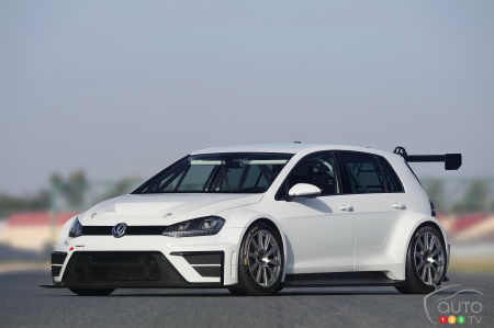 A Volkswagen Golf for racing? The dream will become a reality!