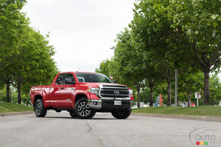 2015 Toyota Tundra Double Cab 4x4 SR 5.7L TRD Review