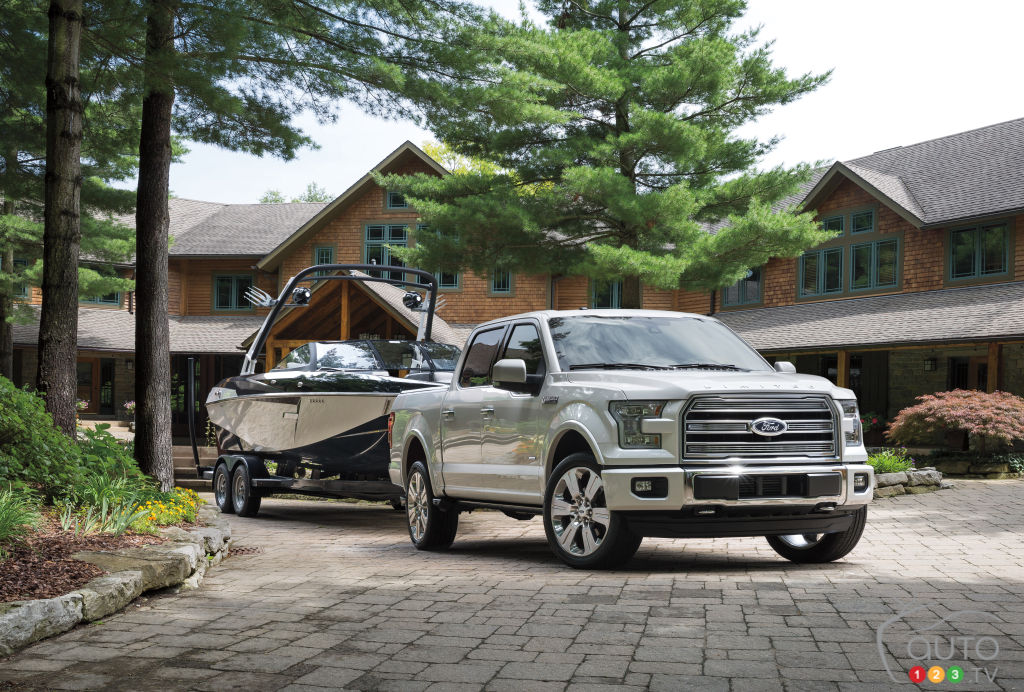 All-new Ford F-150 Limited offers even more standard features
