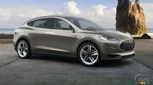 All-new Tesla Model X (finally) coming next month!