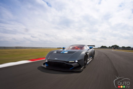 Four Aston Martin cars to be displayed at Pebble Beach Concours d'Elegance