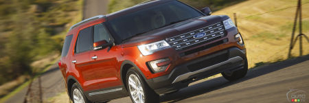Ford Explorer 2016 : aperçu