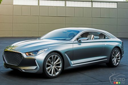 "Hyundai ""Vision G"" Coupe Concept Revealed"