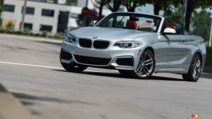 2015 BMW 228i xDrive Cabriolet Review