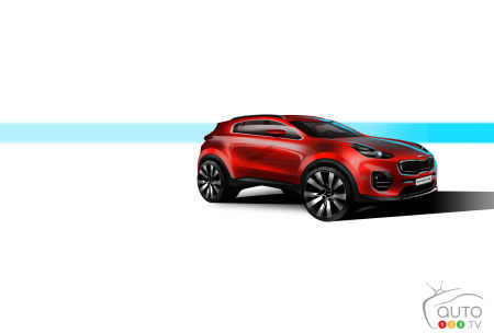 Kia Sportage sketches leaked