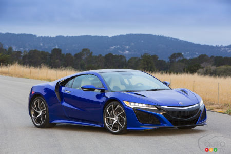Acura NSX delayed