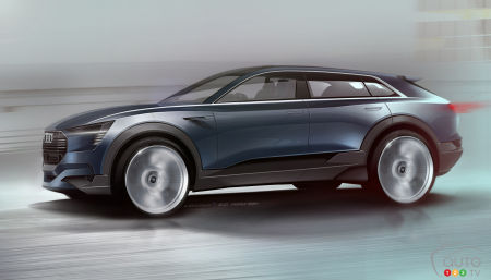 The next Audi SUV will be all electric