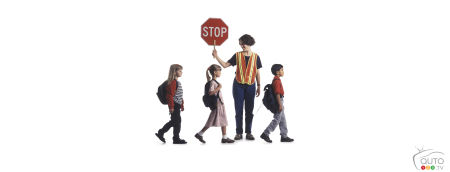 School crossing guards don't get the respect they deserve