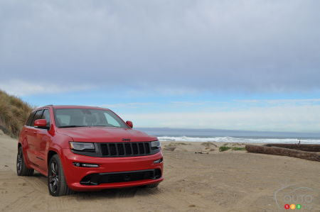 The Jeep Grand Cherokee Trackhawk