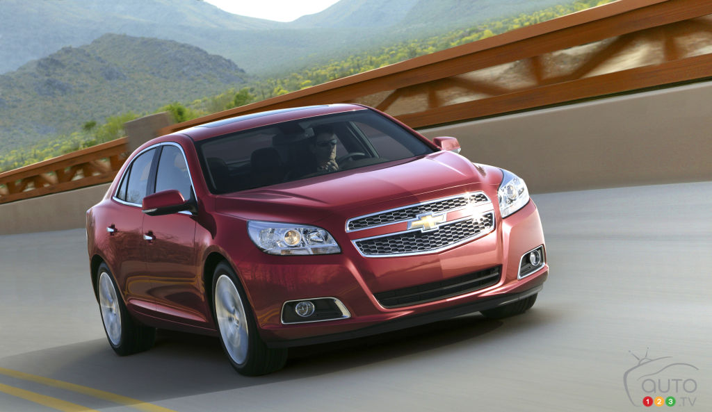 Chevy Malibu has now sold 10 million units since 1964